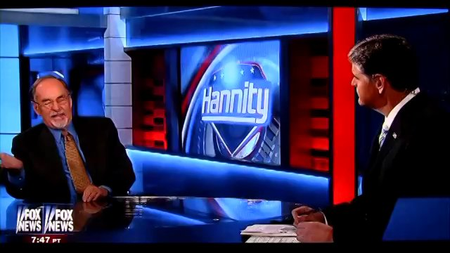 """David Horowitz on Hannity """"The Black Book of The American Left"""""""