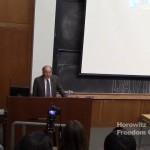 David Horowitz at Boston College
