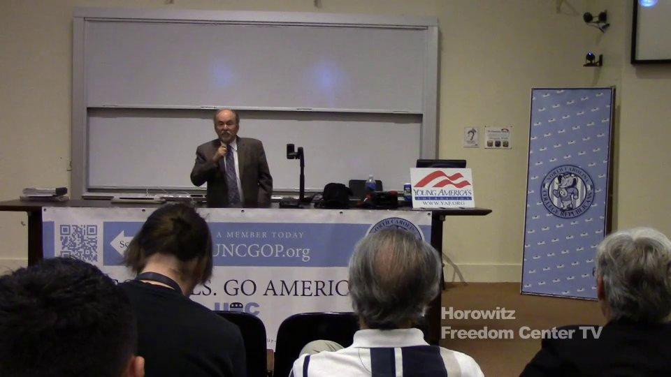 David Horowitz at UNC Chapel Hill