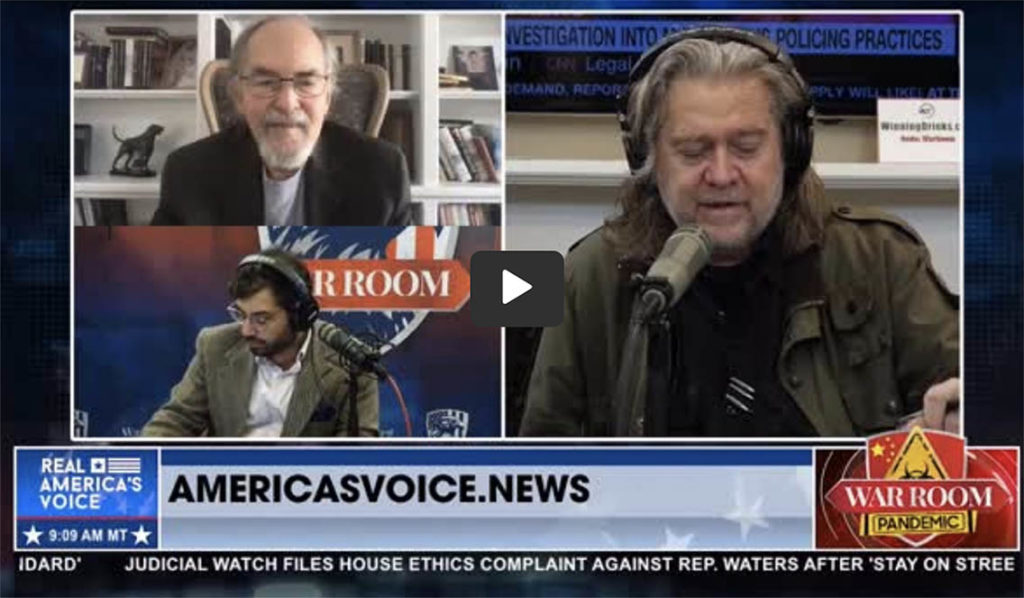 David Horowitz: 'Systemic Racism' is a 'Monstrous Lie' Worthy of CCP, Iran, and Putin