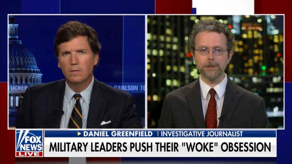 Tucker Carlson about Biden's military purge Daniel Greenfield